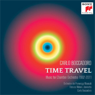 CD Time Travel Carlo Boccadoro